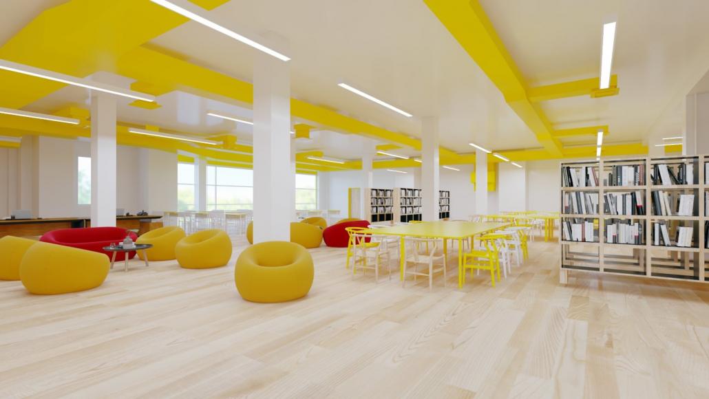 School interiors, St. Petersburg