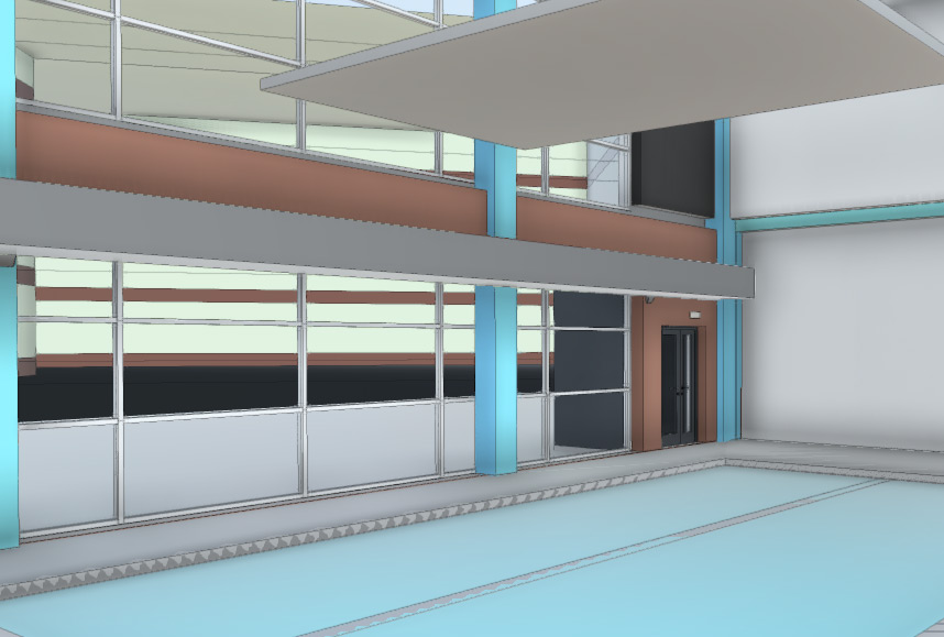 School BIM model