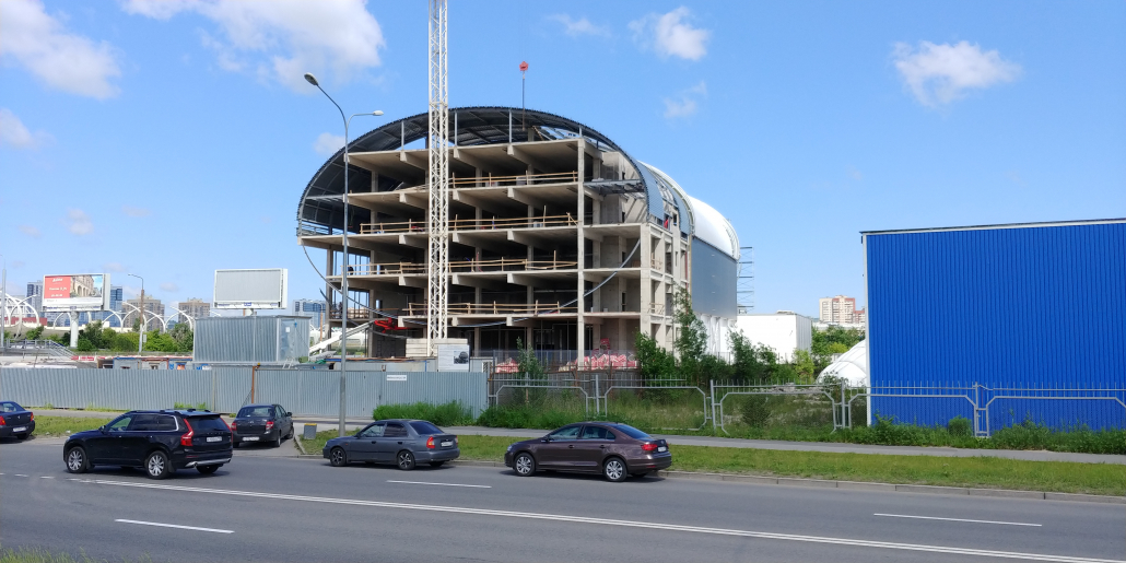 Logistic hub / storage, St. Petersburg